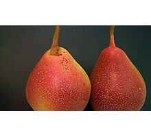 Pear Up Everyone, Its The Last Dance! Photographic Print