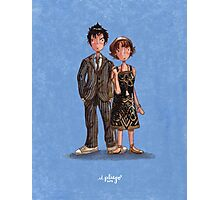 The Doctor & Donna Photographic Print