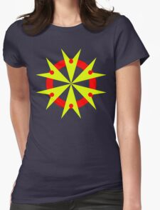 Sting Yellow Womens Fitted T-Shirt