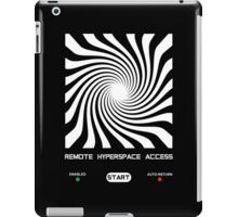 Remote Hyperspace Access iPad Case/Skin