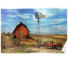 Country - ND - Dirt farming 1936 Poster
