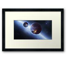 Infinite Space Framed Print