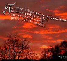 Great is Thy Faithfulness by vigor