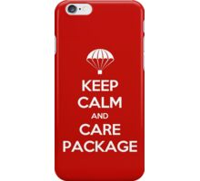 Keep Calm - Care Package iPhone Case/Skin