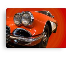 Corvette 1959 Canvas Print