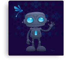 Waving Robot Canvas Print