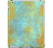 Abstract in Blue and Copper iPad Case/Skin