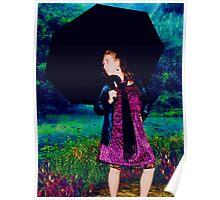 Rainy Days Canvas Poster