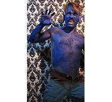blue 4 Photographic Print