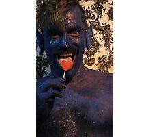 blue 5 Photographic Print