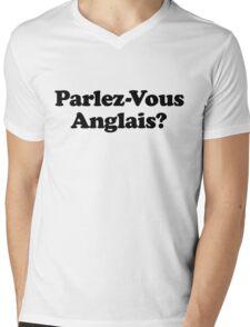 DO YOU SPEAK ENGLISH? Mens V-Neck T-Shirt