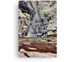 The Chill of Eastatoe Canvas Print