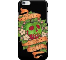 Just One Bite iPhone Case/Skin