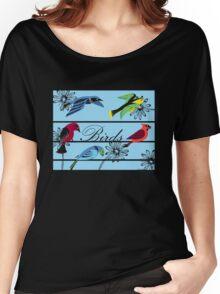 Birds Royal Women's Relaxed Fit T-Shirt
