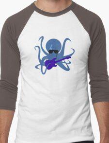 Rocktopus [BLUE] Men's Baseball ¾ T-Shirt