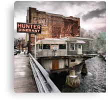 hunter dinerant Canvas Print
