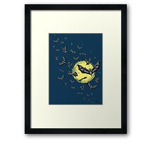 Bat Swarm  Framed Print