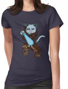 Jedi Kitten Womens Fitted T-Shirt