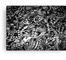 ink fantasy Canvas Print