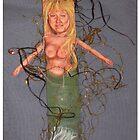 Mermaid Afloat-Art Doll by m catherine doherty