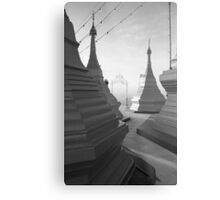 Shwe pong-pwint pagoda Metal Print