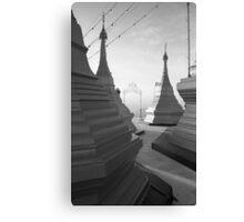 Shwe pong-pwint pagoda Canvas Print