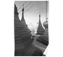 Shwe pong-pwint pagoda Poster