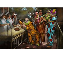 Doctor - Fear of clowns 1923 Photographic Print