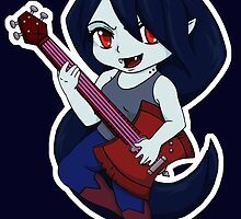 Adventure Time Marceline Chibi by SushiKittehs