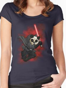 Panda Sith Women's Fitted Scoop T-Shirt