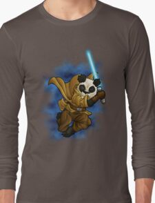 Panda Jedi Long Sleeve T-Shirt