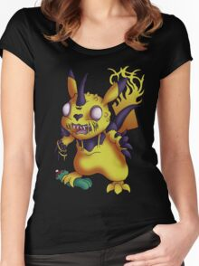 Legion of Pikachu Women's Fitted Scoop T-Shirt