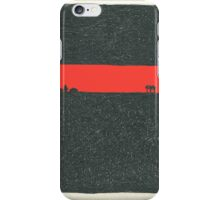 Horizon - Red and Black iPhone Case/Skin