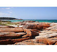 Coloured rocks! Photographic Print