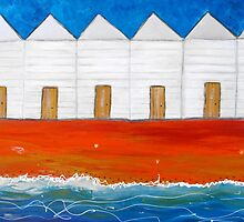 Beach Shack and Bird Prints 11  by Julie  Sutherland