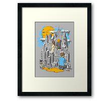 Children's City Framed Print
