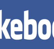 fakebook Sticker
