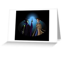 Maleficent's Surprise Greeting Card
