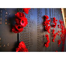 Rememberance Photographic Print