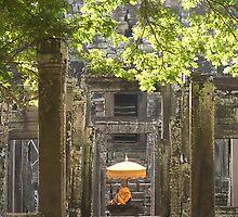 Buddha at Bayon by RobAllsop