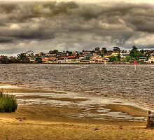 Canning River, Shelley, Western Australia by Elaine Teague