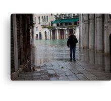 Dead End- Venetian Street Canvas Print