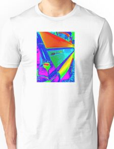 Vibrant World of the Chevy Bel Air Unisex T-Shirt