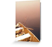 Evening rest Greeting Card