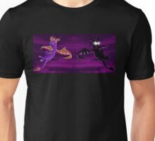 Flying Spyro - normal and dark Unisex T-Shirt