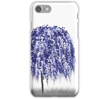 Blue Willow Tree iPhone Case/Skin