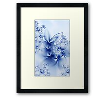 Winter Petals Framed Print