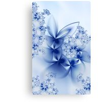 Winter Petals Canvas Print