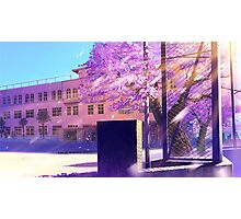 Subtle Anime Scenery 1 Photographic Print