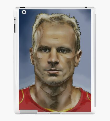 Dennis Bergkamp - Dutch Master iPad Case/Skin